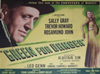 Green For Danger Lobby Card