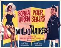 The Millionairess Promotional Quad Poster