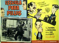 School for Scoundrels Spanish Lobby Card